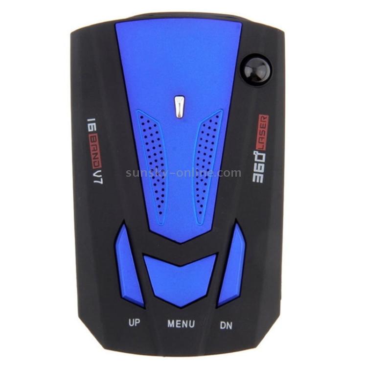 Laser Radar Detector Best Police Scanner Cop For Cars Kit Mount 360 Degree V
