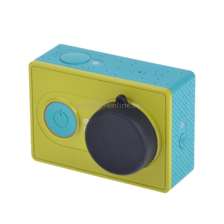 Color : Black Silicone Lens Cap for Xiaomi Yi//GoPro Hero4 3+ 3 Durable