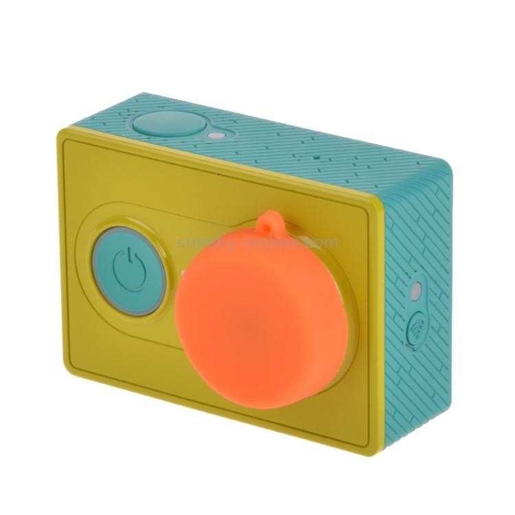 3 Durable Color : Orange 3+ CAOMING Silicone Lens Cap for Xiaomi Yi//GoPro Hero4