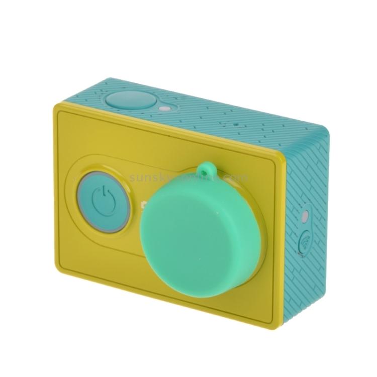 Silicone Lens Cap for Xiaomi Yi//GoPro Hero4 3 Durable Color : Orange 3+