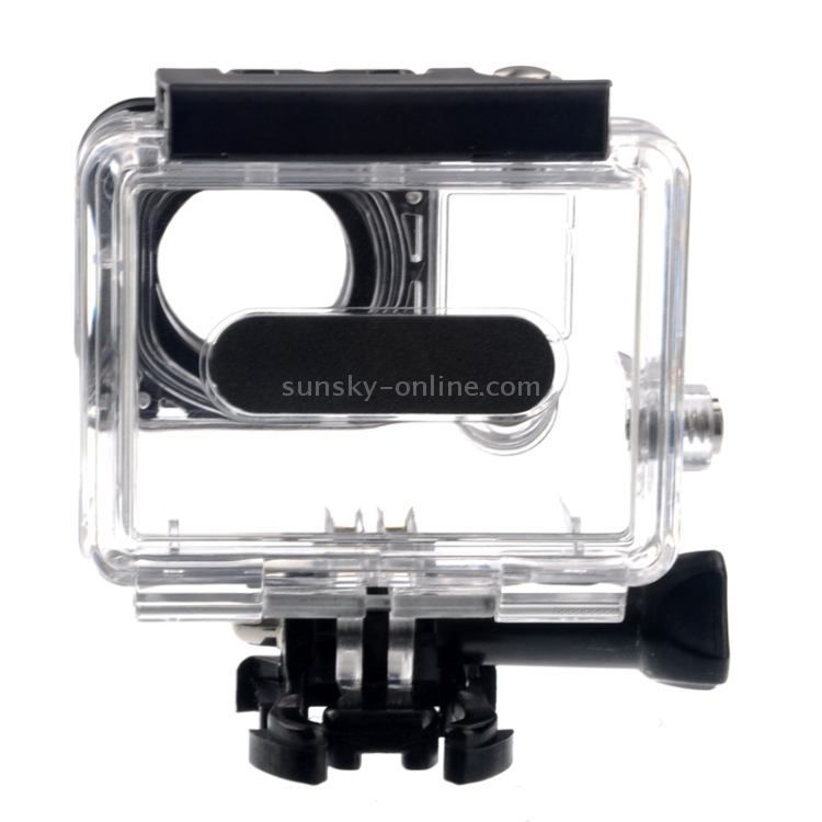 ST-33 Skeleton Protective Housing with UV-Protected Lens for Gopro HERO2 Without Cable for DJI Gopro Action Camera Open Side for FPV