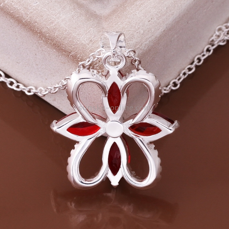 [$2.45] Fashionable Zircon Encrusted Silver Plated Water