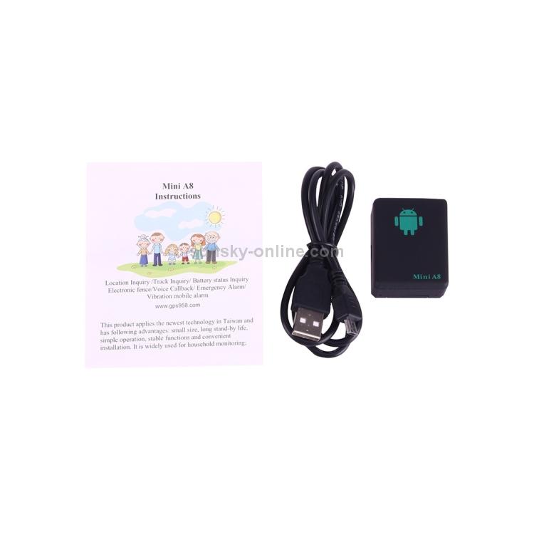SUNSKY - TRACKER Mini A8 Real Time 4 Bands Global Locator GSM/GPRS