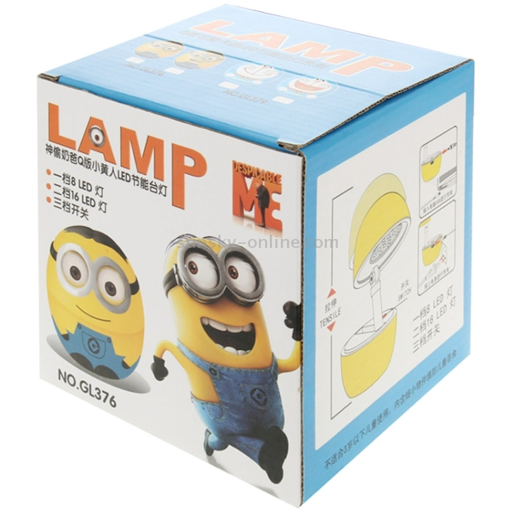 Sunsky Despicable Me Foldable Led Night Light