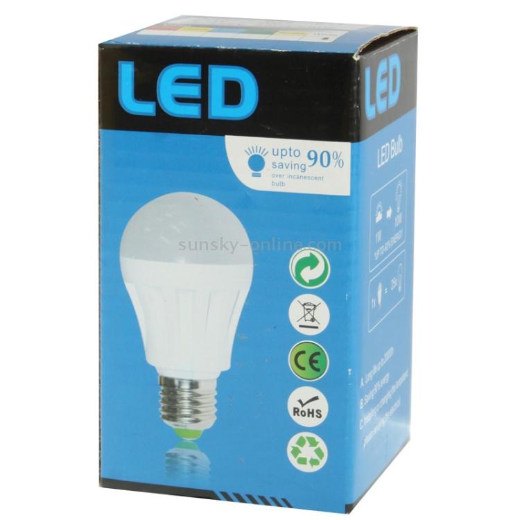 AEIOU E27 3W Energy Saving Light Bulb 6000-6500K White Light 270LM AC 220V Decorative Balls
