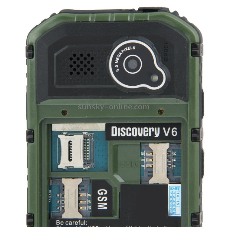 Sunsky Somin V6 Triple Proofing Phone 512mb 4gb