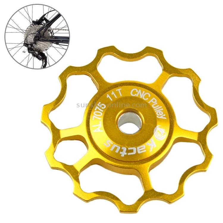 2 x 11T Aluminium Mountain Bike Rear Derailleur Shimano SRAM Jockey Wheel Pulley