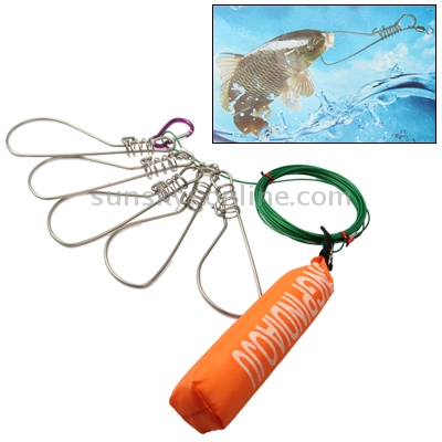 fish hair style sunsky steel fish lock fisher scuba set length 3461