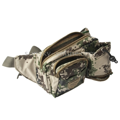 Sunsky Casual Camouflage Patterned Waist Bag Fanny Pack