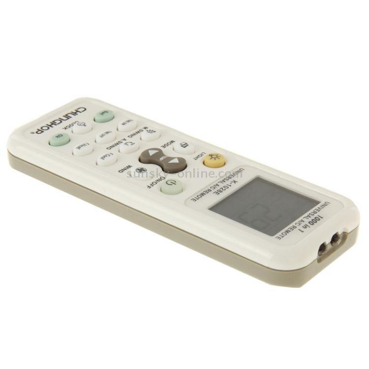 SUNSKY - Chunghop K-1028E 1000 in 1 Universal A/C Remote