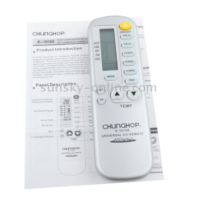 Chunghop k 1010e инструкция