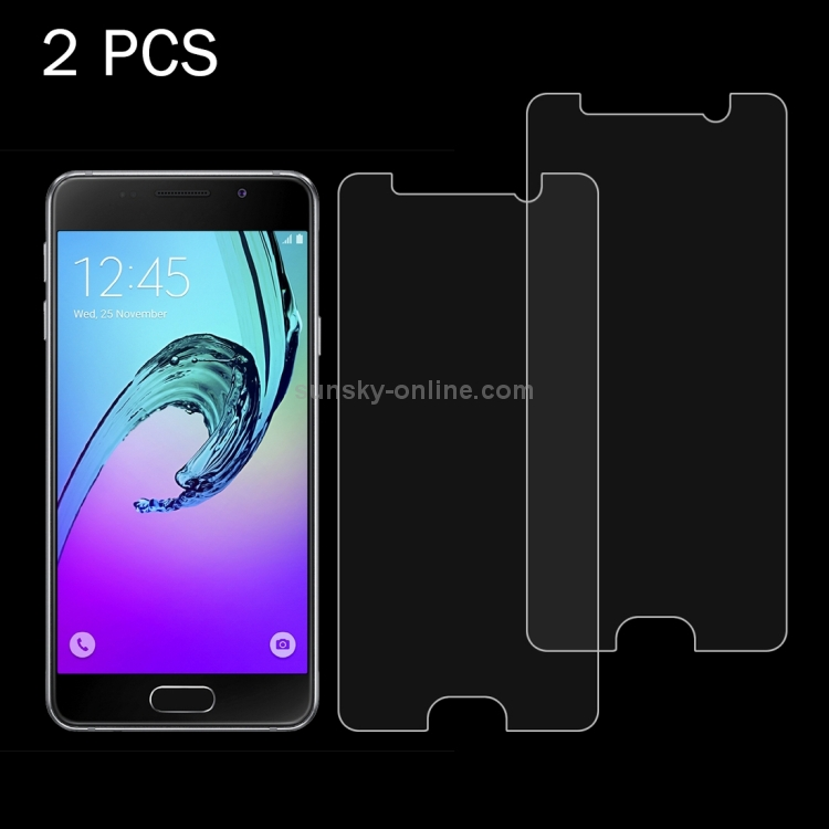 2016 // A310 0.26mm 9H Surface Hardness 2.5D Explosion-Proof Tempered Glass Screen Film Glass Film Screen Protector Protective 100 PCS for Galaxy A3