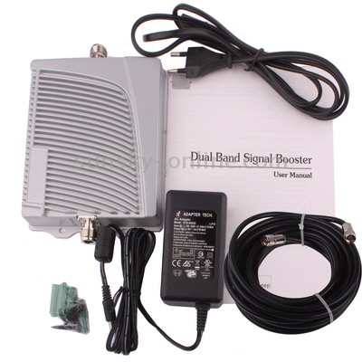 Ankle jammer | Dual Band GSM800 & GSM1900 Signal Booster + Indoor Antenna