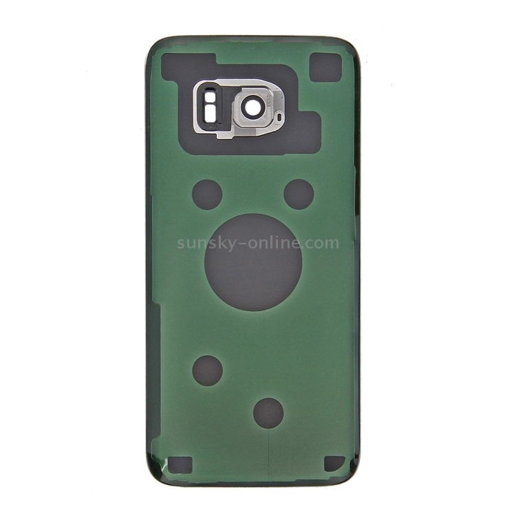 Фото iPartsBuy for Samsung Galaxy S7 Edge / G935 Original Battery Back Cover with Camera Lens Cover(Silver). Купить в РФ