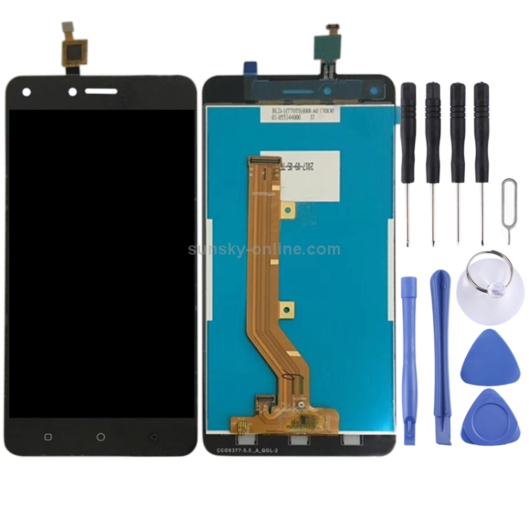 SUNSKY - LCD Screen and Digitizer Full Assembly for Tecno W5