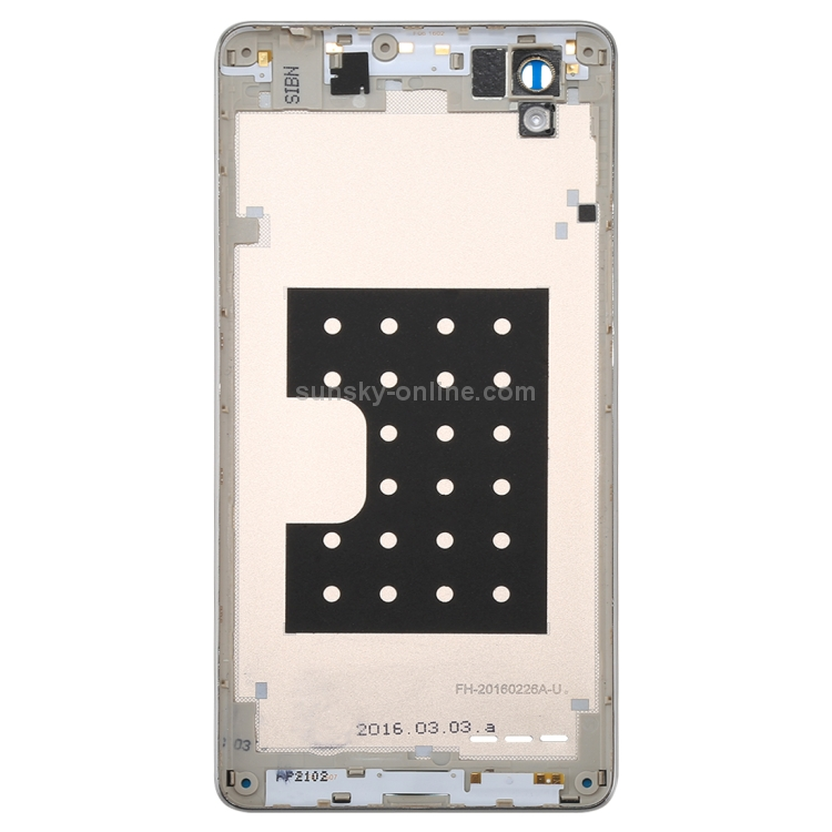 SUNSKY - Battery Back Cover for OPPO A35 / F1(Gold)