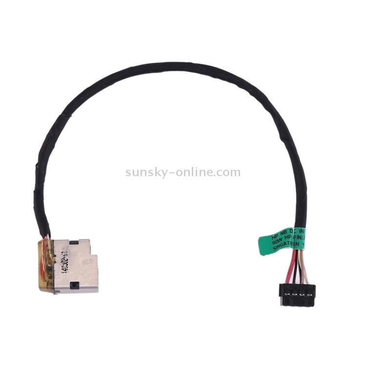 LIYE DC Power Jack Connector Flex Cable for HP Pavilion 15//15-e /& 17//17-e