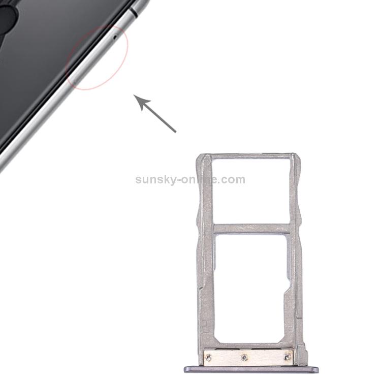 SUNSKY - For ZTE Nubia Z11 Mini SIM Card Tray (Grey)