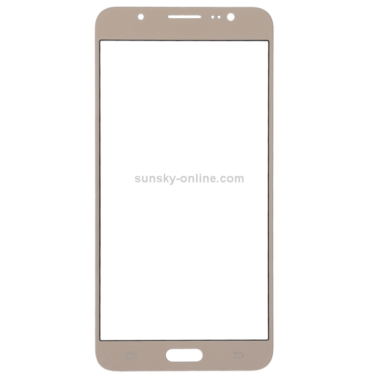 SUNSKY - Front Screen Outer Glass Lens for Galaxy J7 (2016