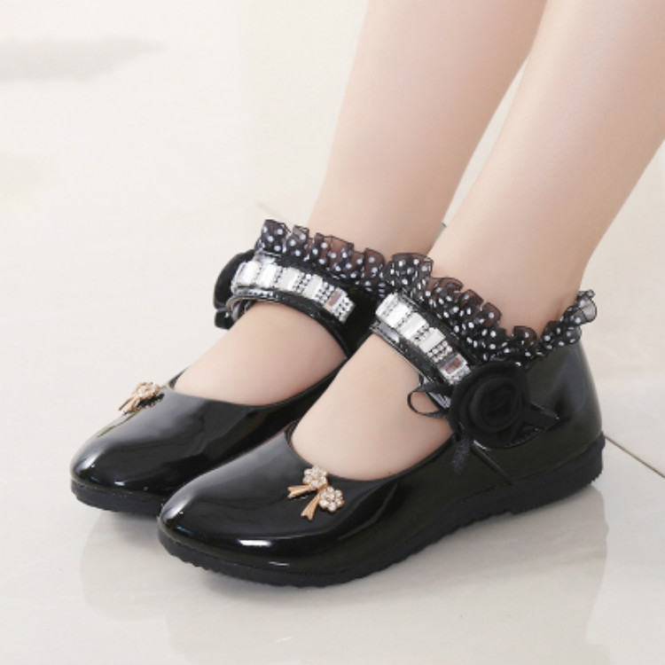 Shoes Flat Casual Leather Kids Shoes