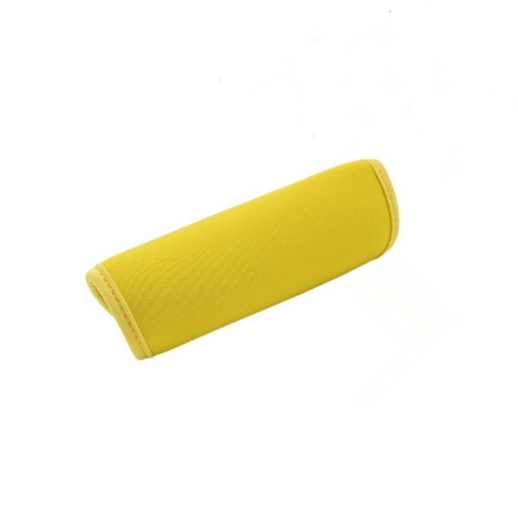 C/ómodo Neopreno Equipaje Mango Wrap Agarre Identificador Suave Cochecito Agarre Cubierta Protectora para Bolsa de Viaje Maleta de Equipaje Negro