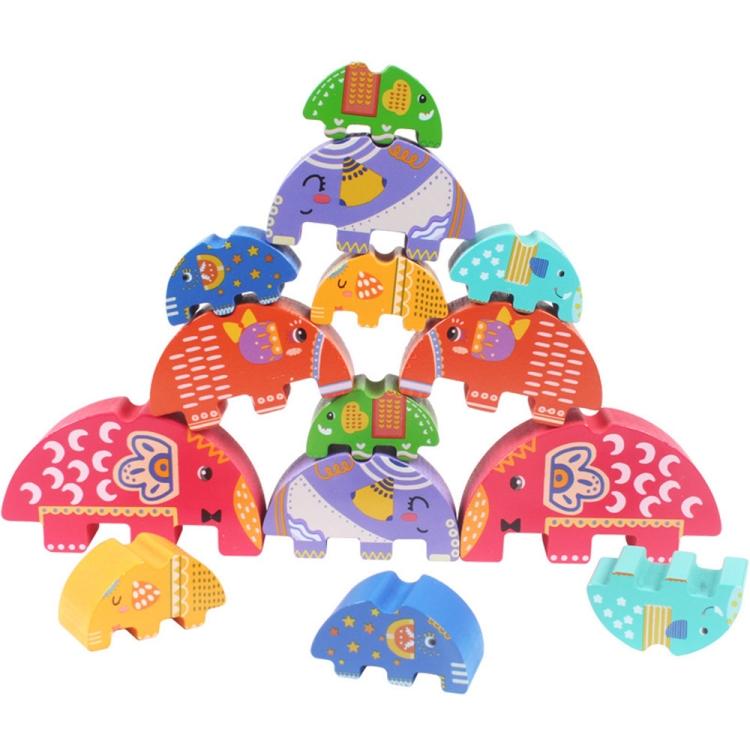 decorative play mat.htm sunsky jenga animal elephant balance intelligence wooden toys  sunsky jenga animal elephant balance