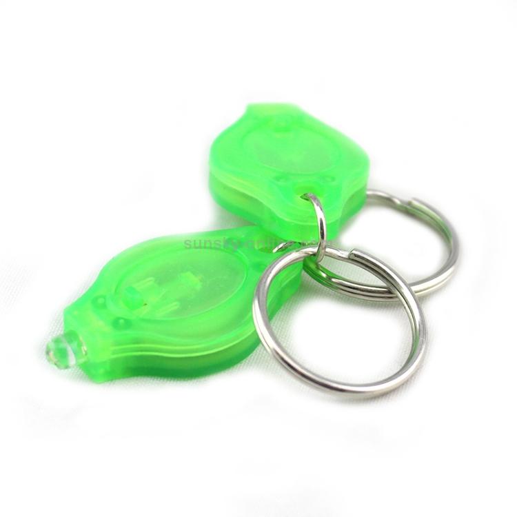 Outdoor Mini LED Torch Light Pocket Keychain Keyring Camping Flashlight New