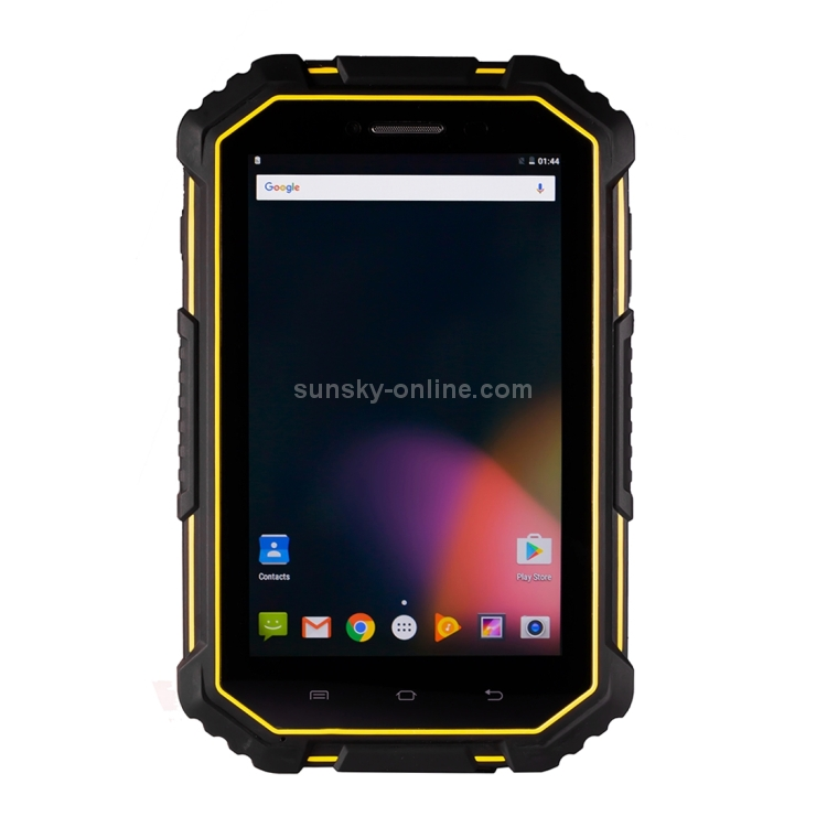 Фото M16 Triple Proofing Tablet PC, 7.0 inch, 2GB+16GB, 4G Phone Call, IP67 Waterproof Shockproof Dustproof, Android 6.0, MTK6735 Quad Core up to 1.5GHz, Dual SIM(Yellow). Купить в РФ