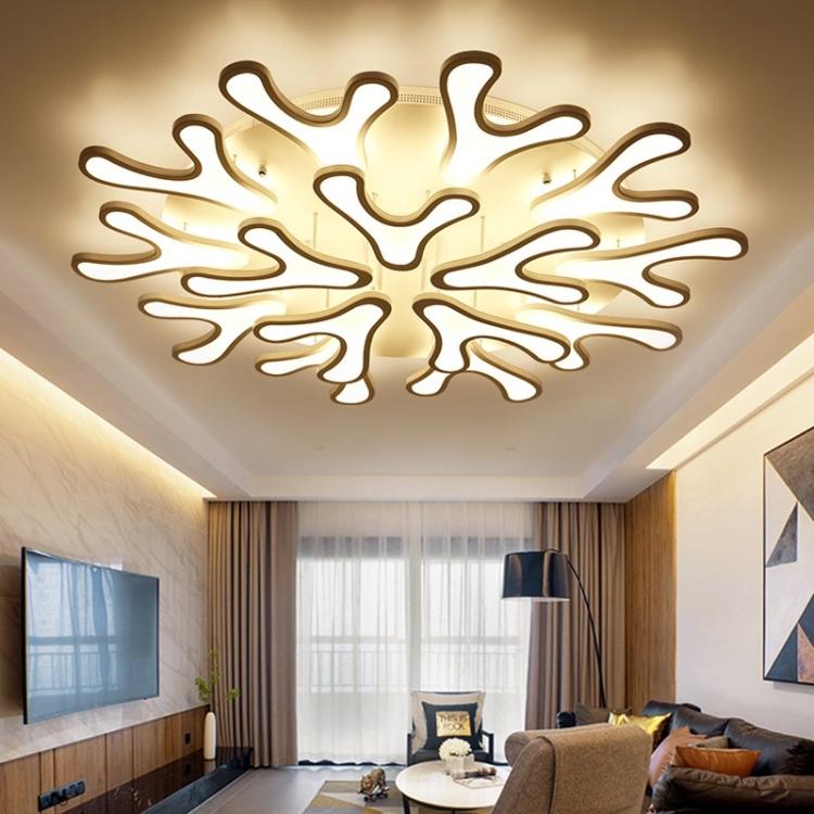 Sunsky Simple Modern Led Ceiling Lamp Creative Atmosphere Hotel Lobby Ceiling Lamp Living Room Nordic Flower Ceiling Lamp 15 Heads 1200mm Warm White,Interior Design Application Letter