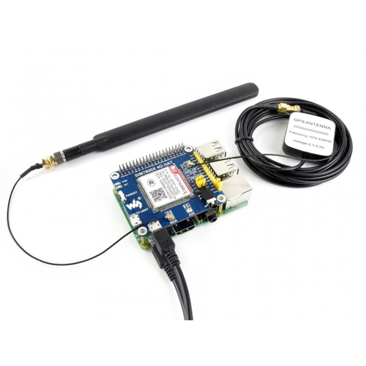 SUNSKY - Waveshare 4G / 3G / 2G / GSM / GPRS / GNSS HAT for