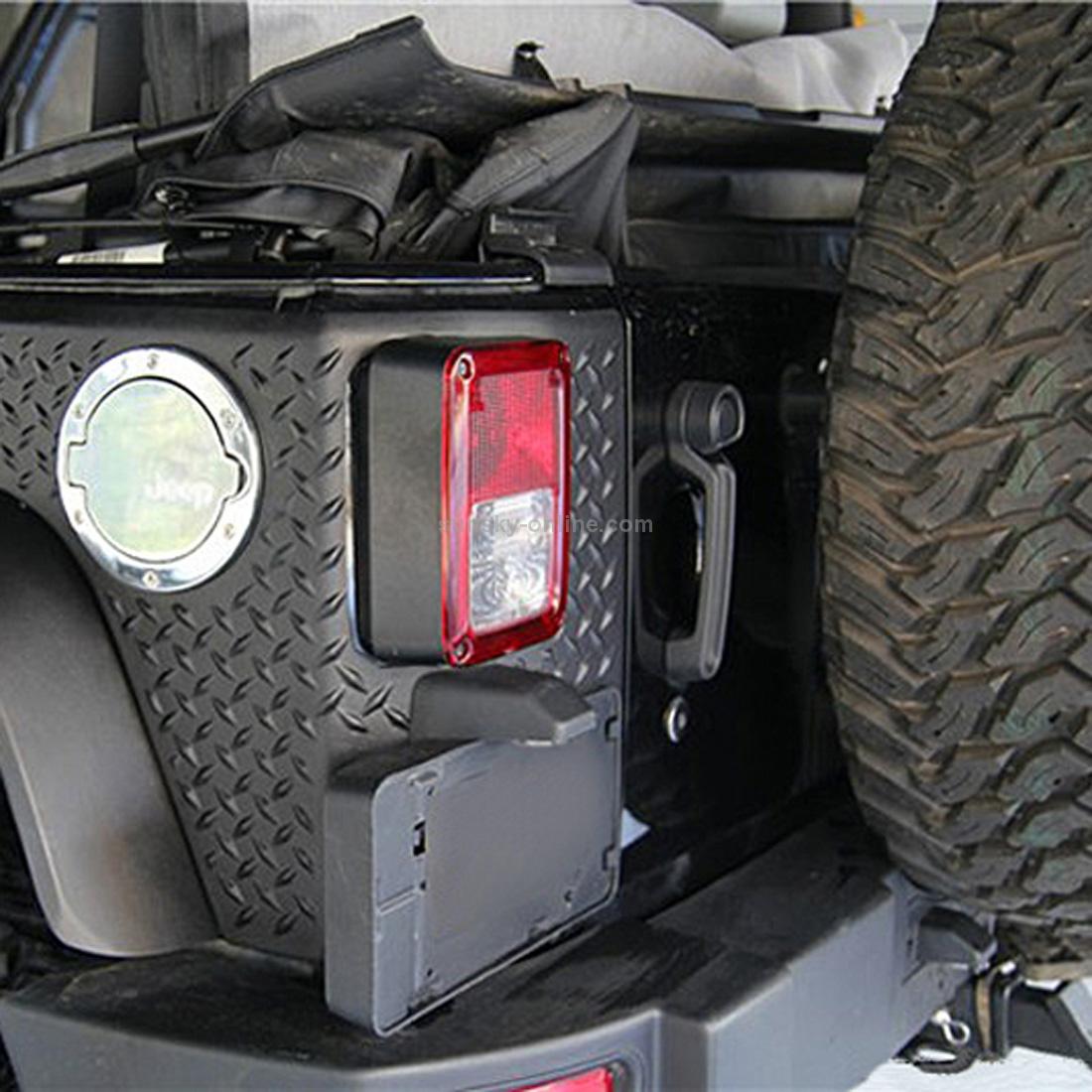 Rear License Plate Mounting Bracket Frame Holder For 2007-2017 Jeep Wrangler JK