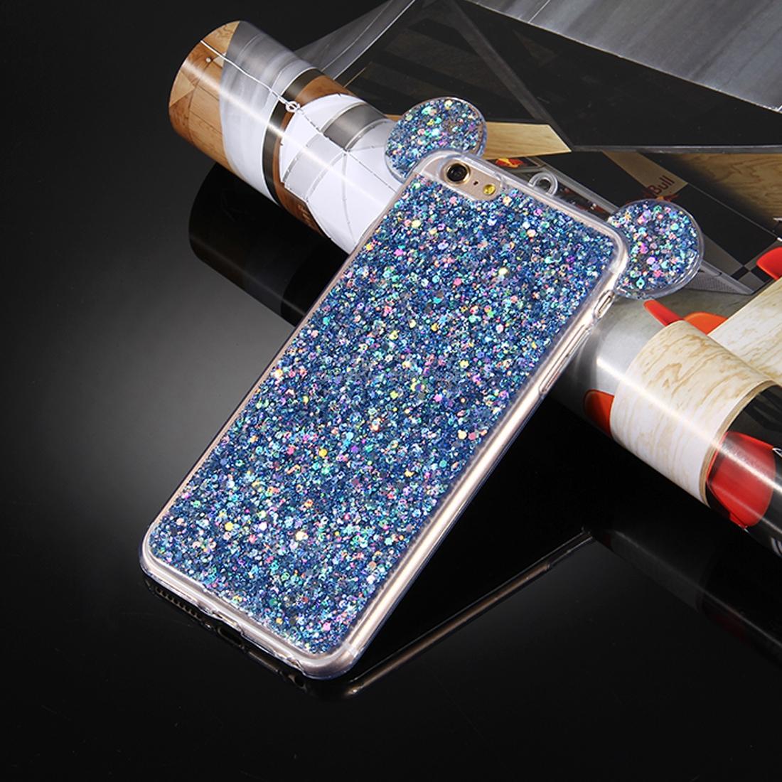 on sale 3d14e 79caa SUNSKY - For iPhone 6 Plus & 6s Plus Glitter Powder Mouse ...