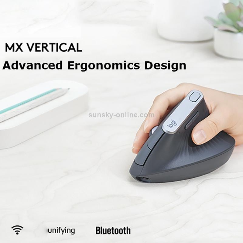 SUNSKY - Logitech MX Vertical 4000DPI USB-C / Type-C + Unifying +
