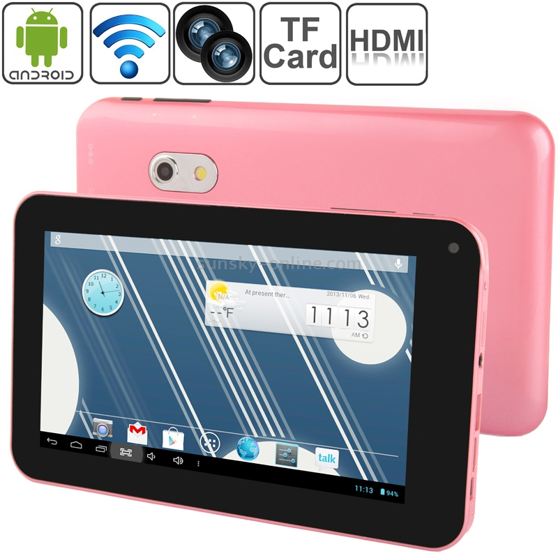 SUNSKY - 7 0 inch Android 4 2 Tablet PC, CPU: Allwinner A20 Dual