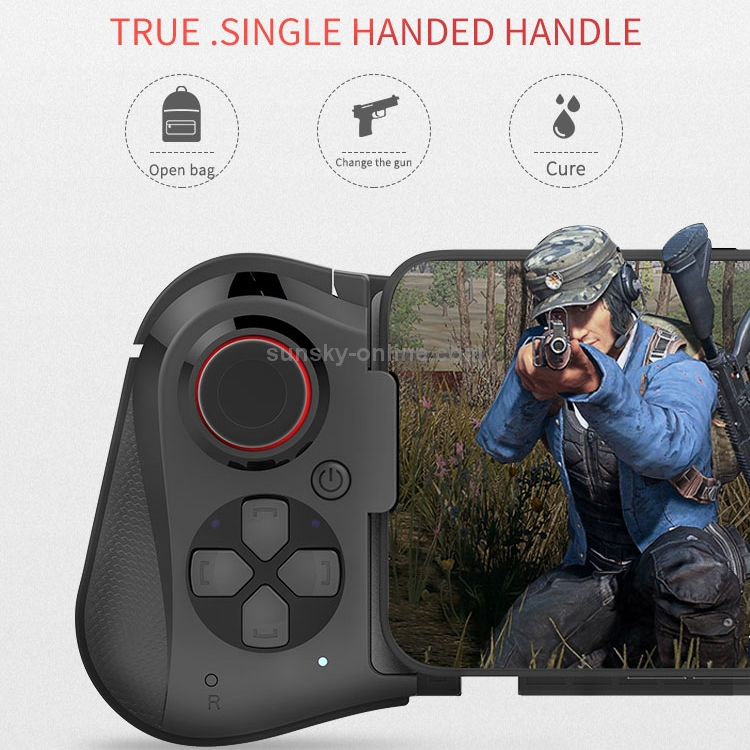 SUNSKY - One-hand Stretch Retractable Bluetooth Gamepad, Bluetooth