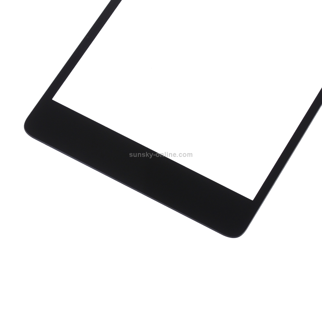 SUNSKY - Front Screen Outer Glass Lens for Microsoft Lumia 540(Black)