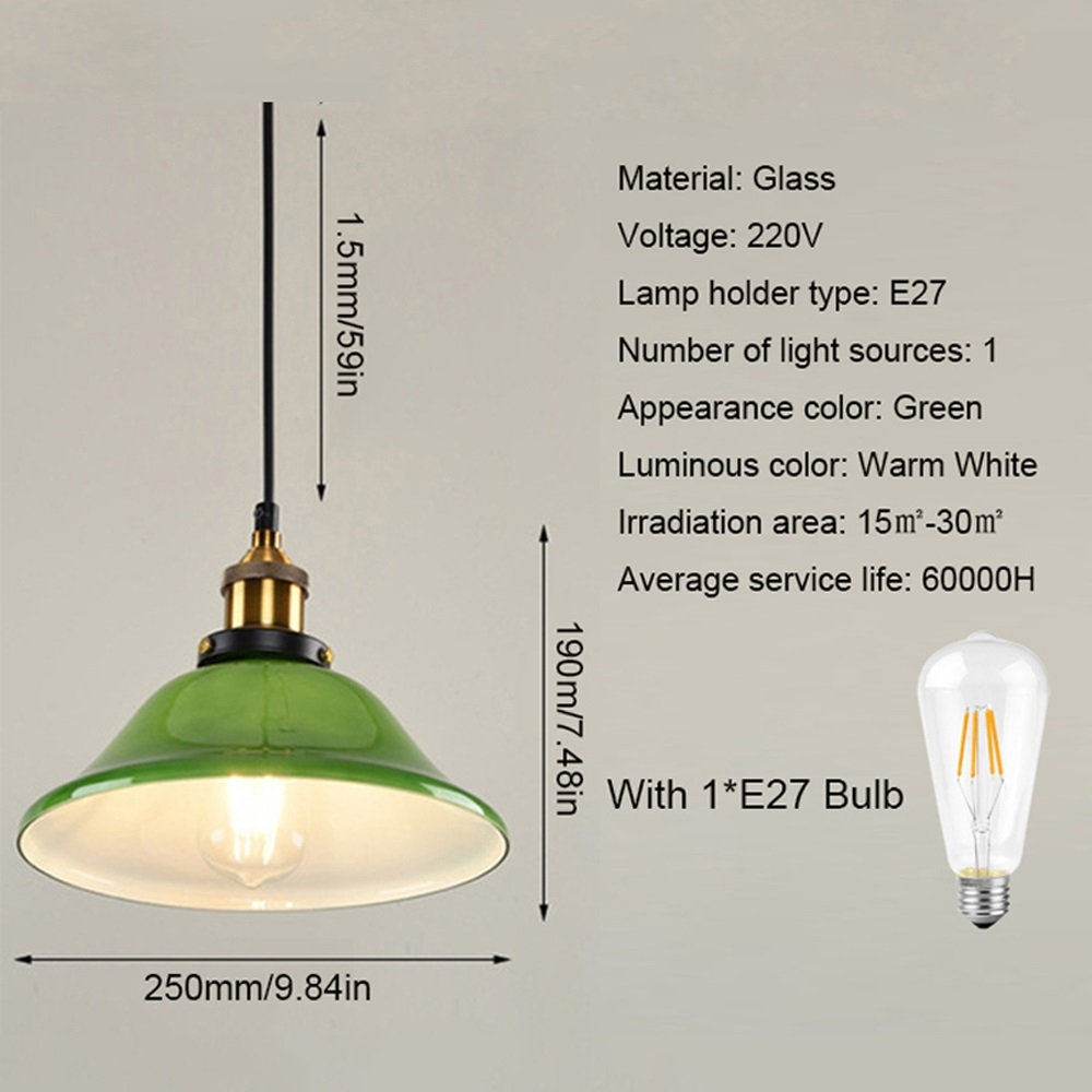 Sunsky Ywxlight Led Industrial Edison Vintage Style
