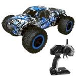 DEER MAN LR-R004 2.4G R/C System 1:16 Wireless Remote Control Drift Off-road Four-wheel Drive Toy Car(Blue)