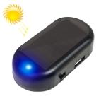 aae0d0bbd LQ-S10 سيارة الطاقة الشمسية محاكاة وهمية إنذار إنذار مضاد للسرقة الصمام  اللمعان ضوء الأمن وهمية مصباح