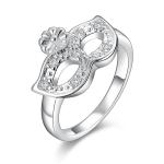 SUNSKY - Fashionable Zircon Encrusted Silver Plated Jewel