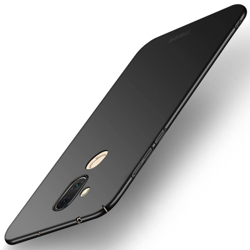 MOFI for Asus Zenfone 5 Lite ZC600KL Frosted PC Ultra-thin Edge Fully Wrapped Protective Back Cover Case(Black) protective frosted ultra thin pp back cover case for iphone 6 plus 5 5 black