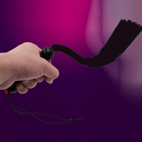 Buy Sexy Flirting horse Whip Leather Whip, Length: 36cm, Black for $2.64 in SUNSKY store
