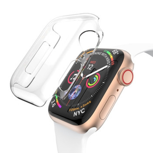 For Apple Watch Series 5 & 4 40mm Full Coverage PC Case(Transparent) фото