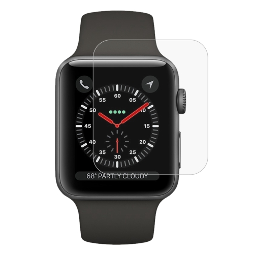 ENKAY Hat-Prince for Apple Watch Series 3 42mm 0.2mm 9H Surface Hardness 2.15D Explosion-proof Tempered Glass Screen Film