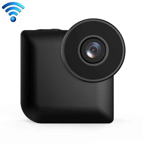 CAMSOY C3 HD 1280 x 720P 140 Degree Wide Angle Wireless WiFi Wearable Intelligent Surveillance Camera, Support Infrared Right Vision & Motion Detection Alarm & Charging while Recording (Black)