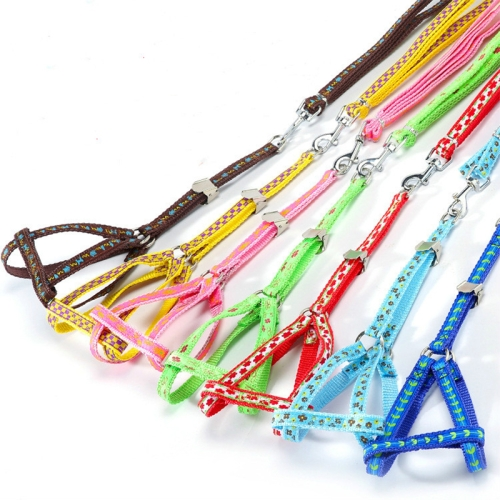Buy Double Printing Pet Thoracodorsal Traction Rope Random Color Delivery (Size (L * W ): S 1.0 * 130cm) for $1.42 in SUNSKY store