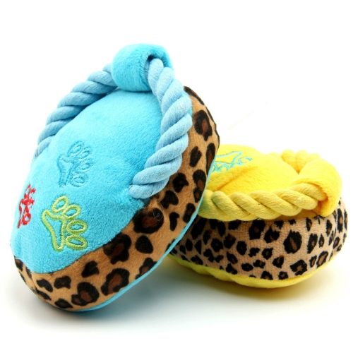 Buy 2 Pack Pets Sound Slippers Plush Toys Random Color Delivery (Specification: Multicolor mix) for $2.55 in SUNSKY store