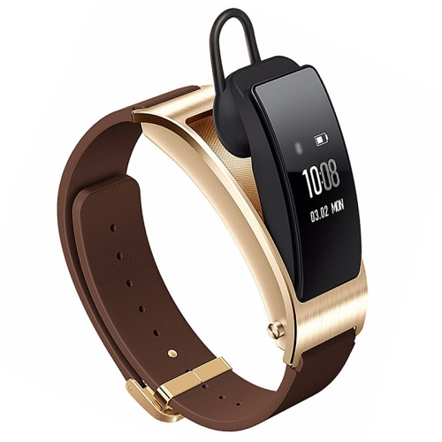 Huawei TalkBand B3 5 Modes Bluetooth 4.2 Headset Business Smart Bracelet for Android / iOS, Support Fitness Tracker / Pedometer / Reminder Call / Anti-lost/ Sleep Monitor(Brown) ds18 waterproof smart baby watch gps tracker for kids 2016 wifi sos anti lost location finder smartwatch for ios android pk q50