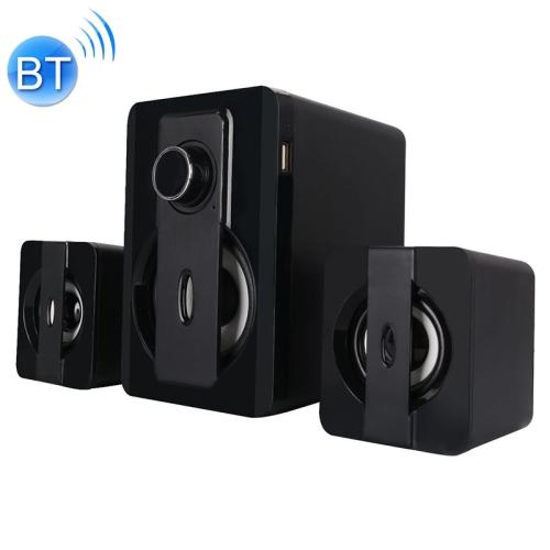 X3000 Stereo Heavy Bass Bluetooth Speaker, Support TF Card / USB / AUX / FM (Black)