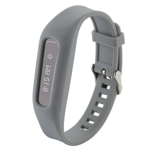 Buy For Fitbit One Smart Watch Silicone Watchband, Length: about 24.2cm, Grey for $1.92 in SUNSKY store